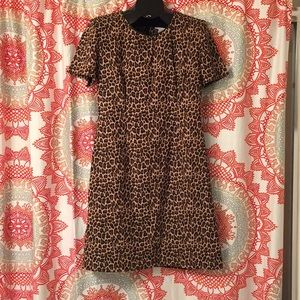 Vintage Studio C 10 Leopard Print Dress
